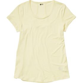 Marmot Aura Koszulka z krótkim rękawem Kobiety, yellow mist